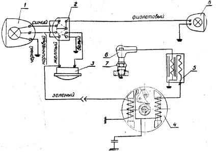 электросхема мопеда дельта